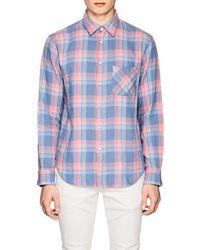 Rag & Bone - Fit 3 Beach Plaid Cotton Shirt - Lyst