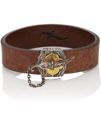 Sevan Biçakci - Dagger Leather Bracelet - Lyst