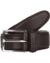 Barneys New York | Stitched Edge Belt | Lyst