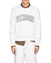 Ovadia And Sons - brooklyn Cotton Terry Sweatshirt - Lyst