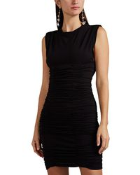 Alexander Wang - Ruched Stretch-crepe Minidress - Lyst