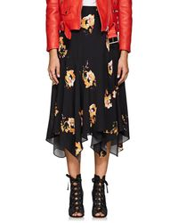 A.L.C. - Borden Floral Silk Skirt - Lyst