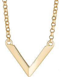 Miansai - Mini Angular Necklace - Lyst