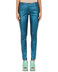 Sies Marjan - Louisa Leather Biker Pants - Lyst