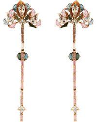 Nak Armstrong - Lotus Drop Earrings - Lyst