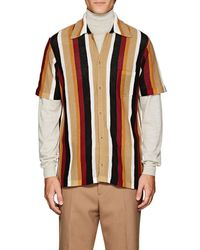 Cmmn Swdn - Striped Knit Shirt - Lyst