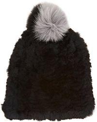 Eugenia Kim - January Knit Fur Beanie - Lyst