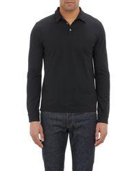 Zanone - Slub Polo Shirt - Lyst