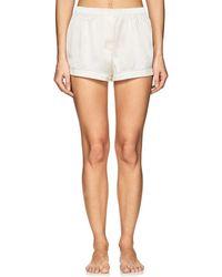 Araks - Tia Silk Charmeuse Pajama Shorts - Lyst