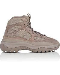 Yeezy - Mixed-material Boots - Lyst