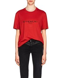 Givenchy - Logo Cotton Oversized T-shirt - Lyst