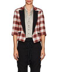 Greg Lauren - Wrangler Plaid Cotton Flannel Jacket - Lyst