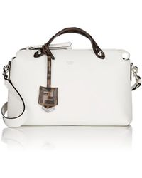 88c58f995777 Lyst - Fendi Small By The Way Color Block Leather Bag in Blue