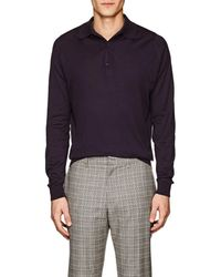 John Smedley - Bradwell Cotton Polo Shirt - Lyst