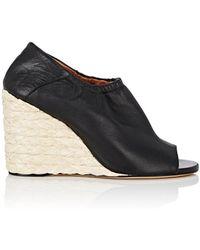 Derek Lam | Cosimia Leather Wedge Sandals | Lyst