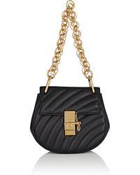 Chloé | Drew Bijou Small Leather Crossbody Bag | Lyst