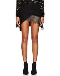 Kalmanovich - Embellished Wool Jacquard Miniskirt - Lyst