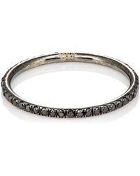 Ileana Makri - Black Diamond Threadband - Lyst