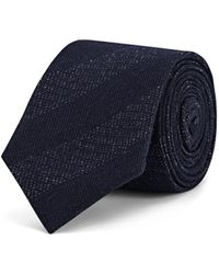 Alexander Olch - Mélange-striped Cotton Necktie - Lyst