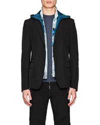 Prada - Hooded Two-button Sportcoat - Lyst