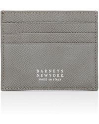 Barneys New York - Leather Card Case - Lyst