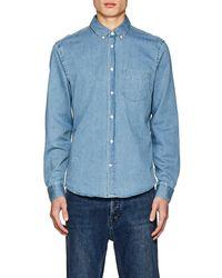 Acne Studios - Isherwood Den Denim Shirt - Lyst
