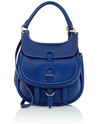 Fontana Milano 1915 - Chelsea Toy Leather Saddle Bag - Lyst