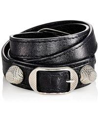 fd526625deaf7 Balenciaga - Arena Giant Double Tour Bracelet - Lyst