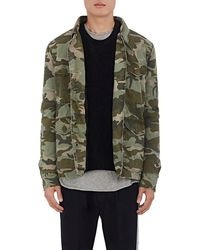 Mr & Mrs Italy - Fur-lined Camouflage Cotton Field Jacket - Lyst