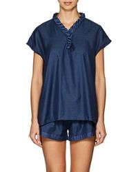 Castle & Hammock - Polka Dot Cotton Shirt - Lyst