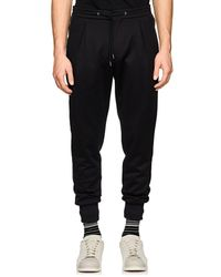 Paul Smith - Side-striped Cotton-blend Jogger Trousers - Lyst