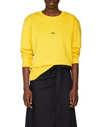 Helmut Lang - taxi Cotton Terry Sweatshirt - Lyst