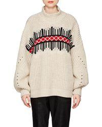 Isabel Marant - Clotil Roll-neck Wool Sweater - Lyst