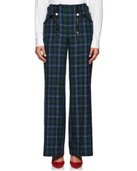 Opening Ceremony - Embellished Plaid Pants - Lyst