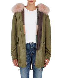 Mr & Mrs Italy - Fur-trimmed Insulated Midi - Lyst