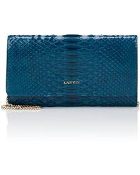 Lanvin - Python Chain Wallet - Lyst