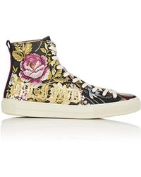 Gucci - Major Jacquard Sneakers - Lyst