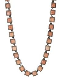 Nak Armstrong - Peach Moonstone Necklace - Lyst