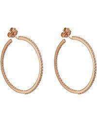 Sidney Garber - Perfect Round Hoop Earrings - Lyst