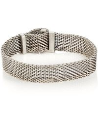 Title Of Work - Adjustable Macro-mesh Bracelet - Lyst