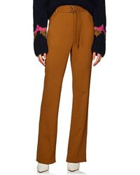 A.L.C. - Crepe Straight-leg Trousers - Lyst