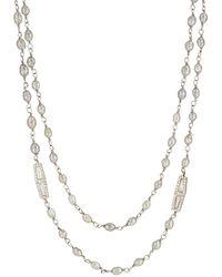 Monique Péan - Diamond Bead Necklace - Lyst