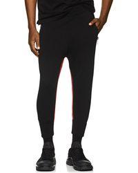 Neil Barrett - Striped Jersey Jogger Pants - Lyst
