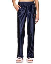 Fila - Logo Sparkly-striped Pants - Lyst