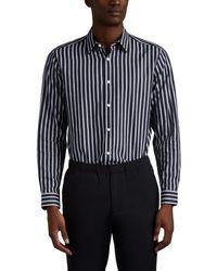 Theory - Menlo Striped Cotton Shirt - Lyst