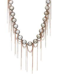 Samira 13 - Fringed Tahitian Pearl Necklace - Lyst