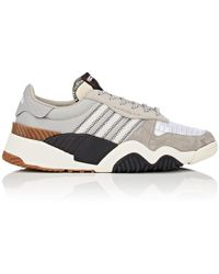 Alexander Wang - Turnout Suede & Nylon Sneakers - Lyst