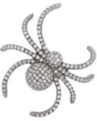 Samira 13 - Spider Stud Earring - Lyst