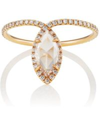 Monique Péan - White Diamond Ring - Lyst