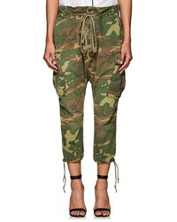 Greg Lauren - Thedrop@barneys: Camouflage Cotton Ripstop Lounge Pants - Lyst